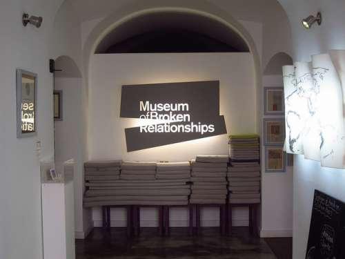 Museo delas Relaciones Rotas de Zagreb