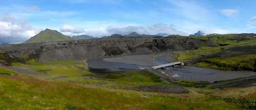 Río Markarfljót en Islandia