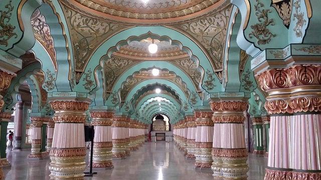 Darbar Hall en el Palacio deMysore