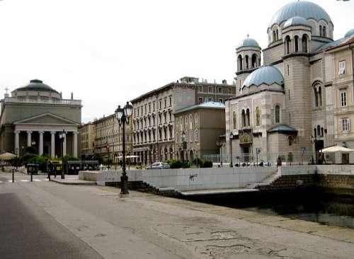 Iglesia de San Spiridone en Trieste