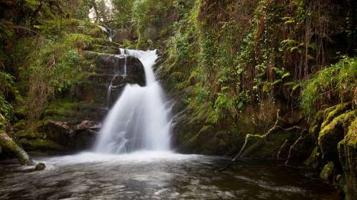 Cascada Sullivan en el Anillo de Kerry