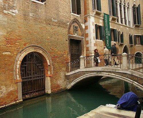 Casa de Goldoni en Venecia