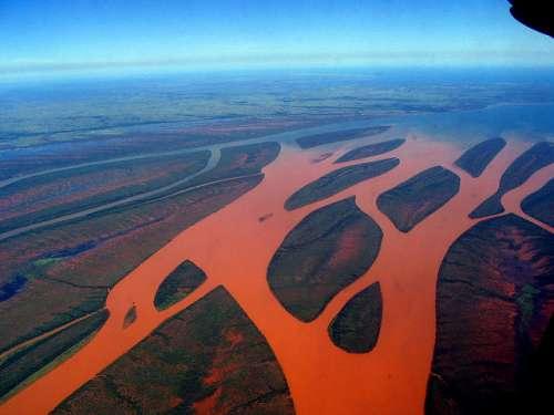 Río Betsiboka en Madagascar