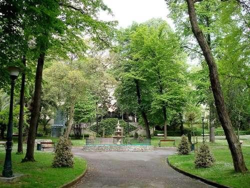 Parque dela Casa de la Misericordia en Bilbao