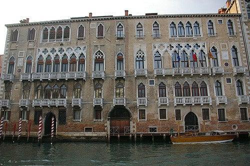 Palacio Giustinian en Venecia
