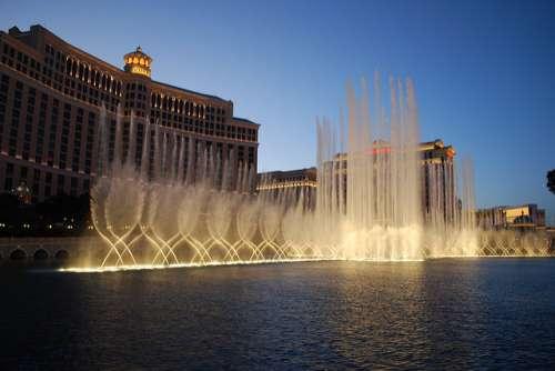 Fuentes del Hotel Bellagio en Las Vegas