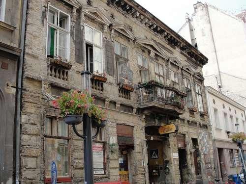 Ruin bar en Budapest