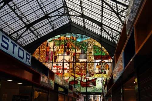 Mercado Atarazanas en Málaga