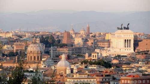 Vistas de Roma desde Gianicolo