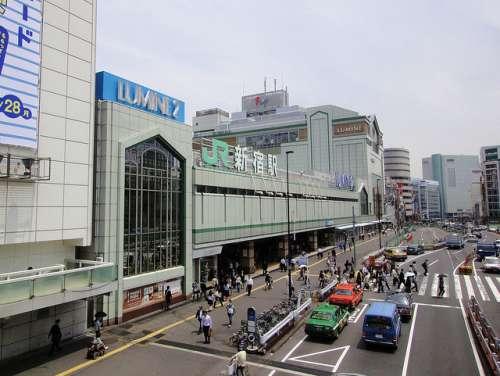 Estación de Shinjuku en Tokio