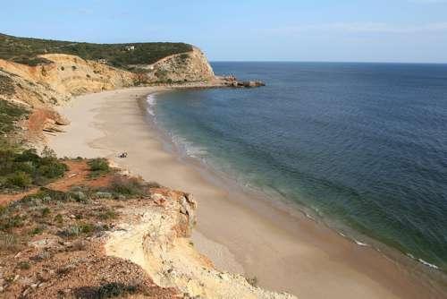 Playa de Cabanas Velhas en Algarve