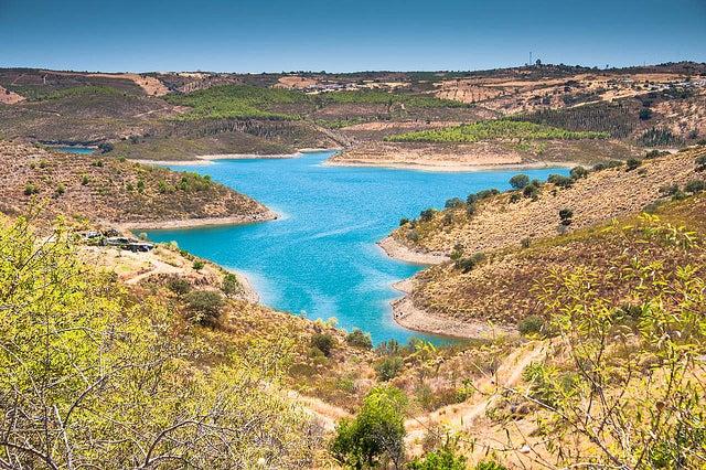 Río Odeleite en Portugal