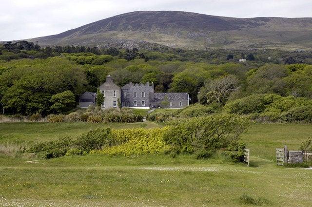 Derrynane House en el anillo de KErry