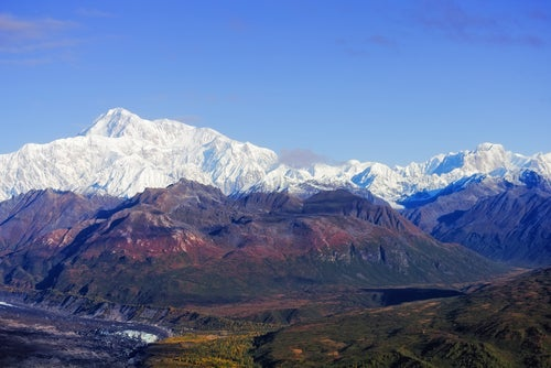 Monte Denali en Alaska.