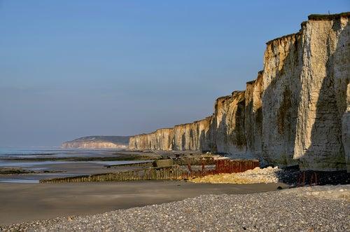 Saint Aubin sur Mer en Normandía