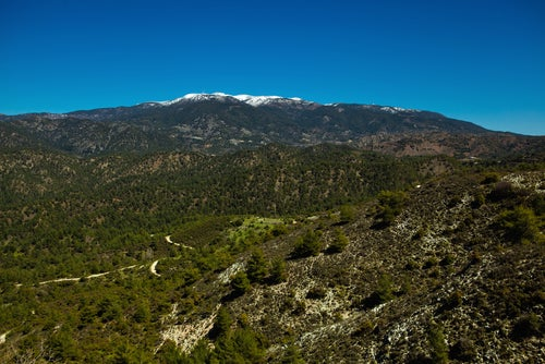 Monte Olimpo en Chipre