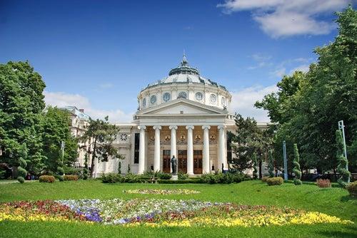 Ateneo Rumano en Bucarest, Rumanía