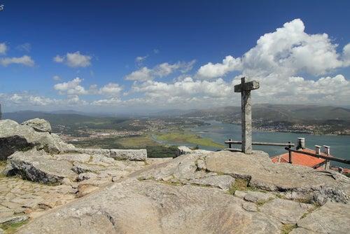Monte de Santa Tecla en Galicia