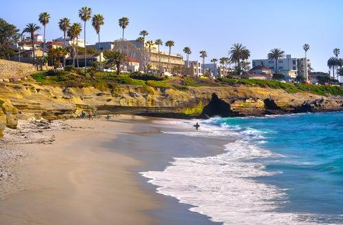 Playa de la Jolla en San Diego