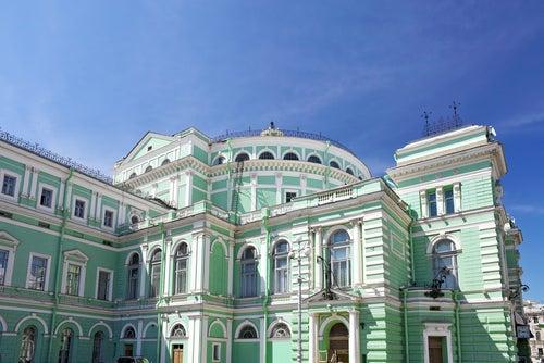Teatro Mariinsky en San Petersburgo