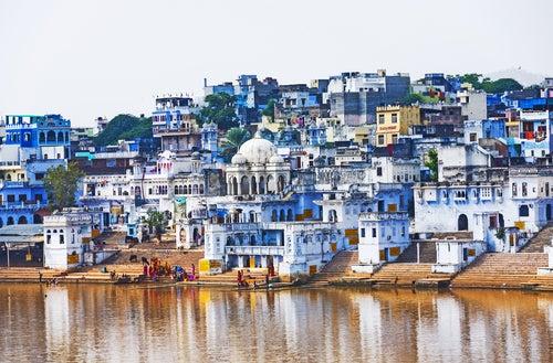 Pushkar en la India, la ciudad del lago sagrado