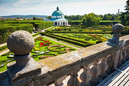 Palacio de Kromeriz en la República Checa