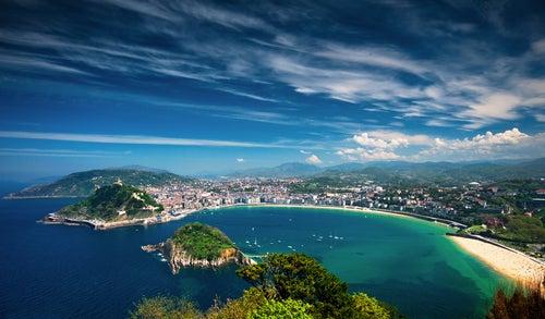 San Sebastián, lugar para visitar en el mapa de España