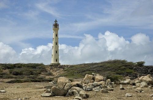 Faro California en Aruba