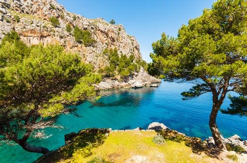 Cala Sa Calobra en Mallorca, tan inaccesible como hermosa
