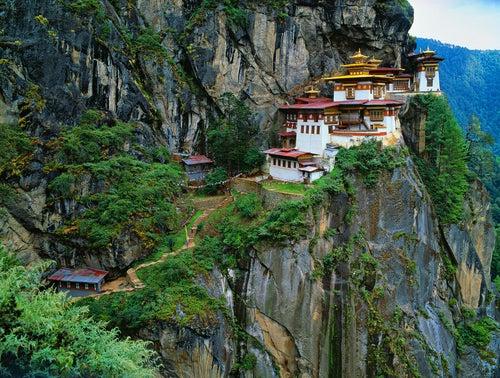Taktshang en Bután