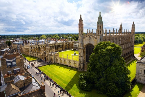 Kings College en Cambrdge