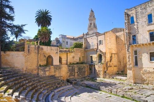 Teatro romano de Lecce