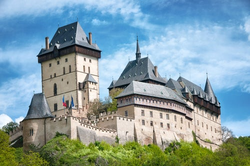 Castillo de Karlstein en la República Checa