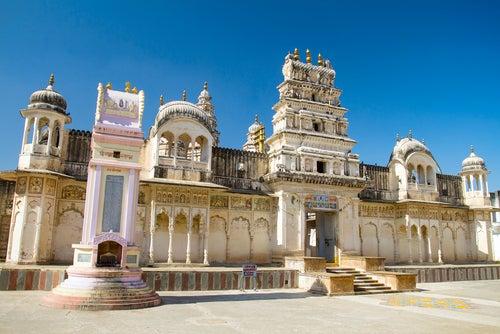 Templo Sri Raghunath Swamy en Pushkar