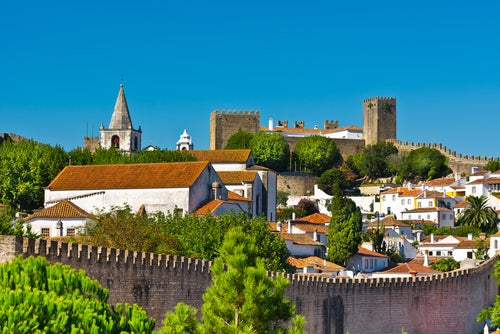 Castillo y muralla de Óbidos