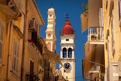 Iglesia de San Spyridon en Corfú