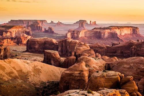 Valle de los Monumentos en Arizona