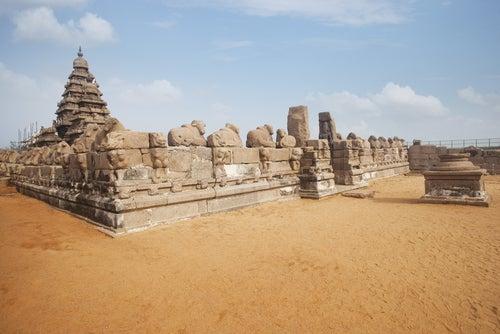 Templo de la Orilla en la India