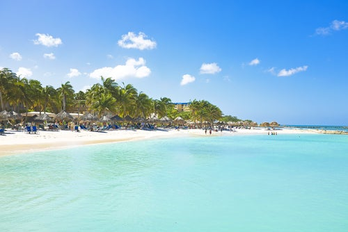 Palm Beach en Aruba