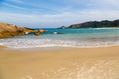 Praia Mole en Santa Catarina