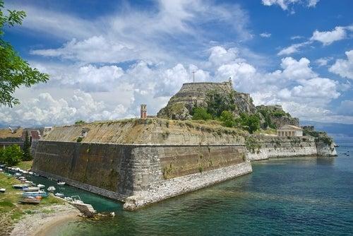 Fortaleza Vieja en Corfú