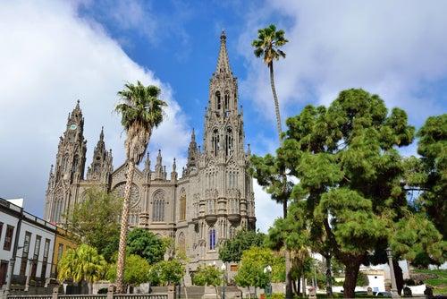 Iglesia de San Juan Bautista en Arucas Gran Canaria