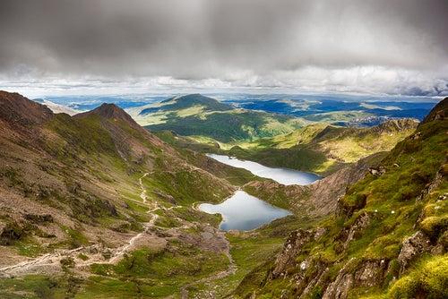 Parque Nacional Snoedonia en Gales