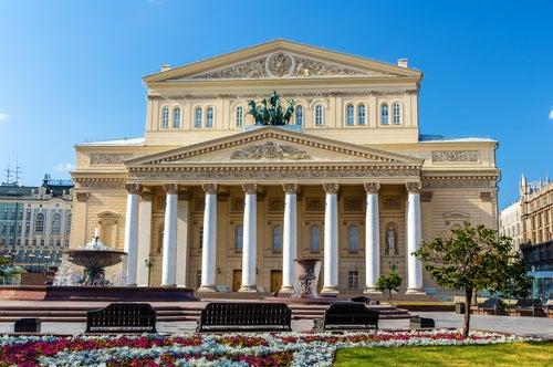Teatro Bolshoi en Moscú
