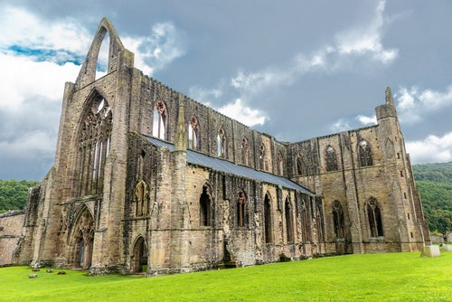 Abadía de Tintern en Gales