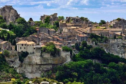 Les Baux de Provence en Francia