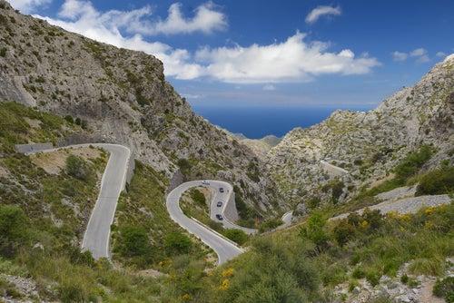 Carretera de Sa Calobra en Mallorca
