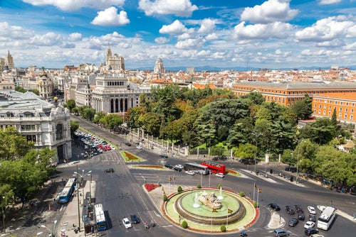 Mirador de Cibeles en Madrid