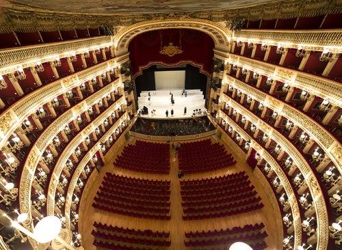 Teatro de San Carlo en Napoles