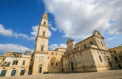 Lecce en Italia, la Florencia del Sur